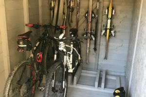 Secure Storage for Bikes