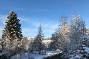 Winter View from Cairnhill Lodge