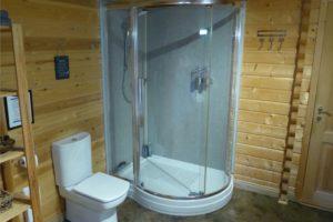 Huge Walk-In Double Shower