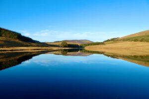 Still reflections on Loch Shandra