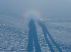 Brocken spectre on Bynack More