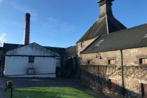 Dewar's Aberfeldy whisky distillery