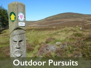 Outdoor Pursuits - Menu